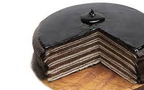 Thousand layer cake…